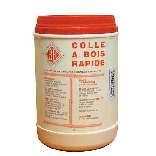 Colle bois BE colle rapide 5 kg